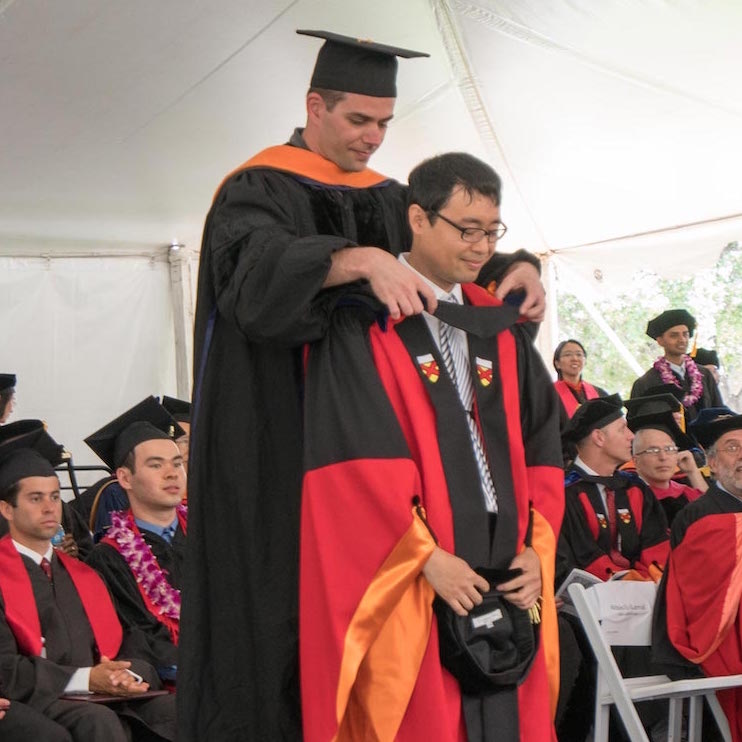 Hooding Sungjoon Choi, June 2016