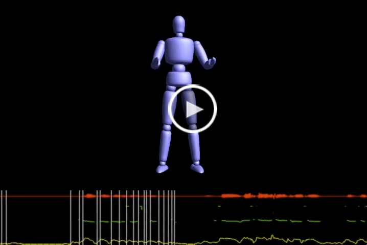 Real-Time Prosody-Driven Synthesis of Body Language