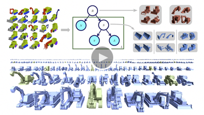 A Probabilistic Model for Component-Based Shape Synthesis