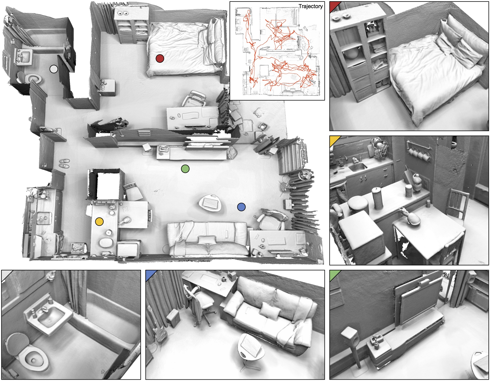 Robust Reconstruction of Indoor Scenes