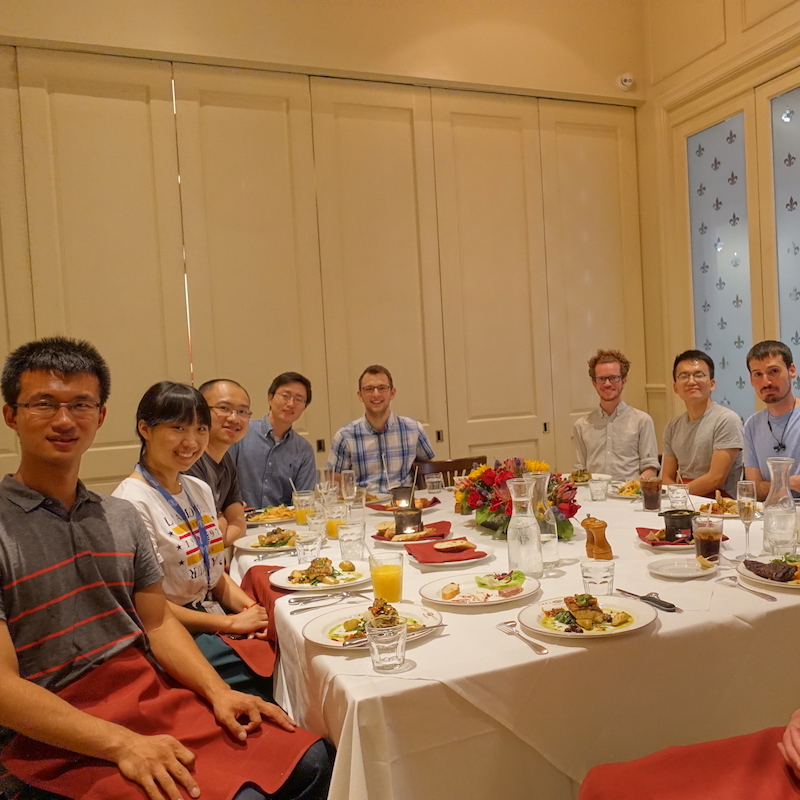 Farewell party for Qifeng, July 2018