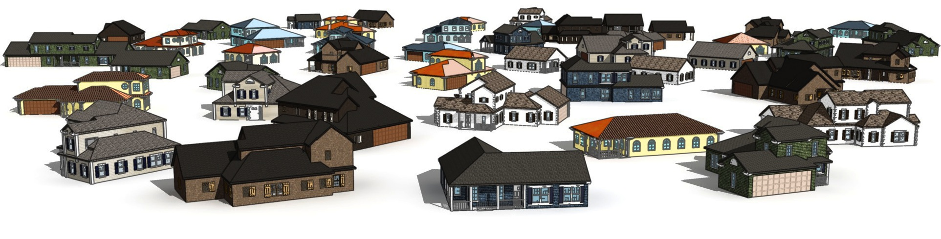 Computer-Generated Residential Building Layouts